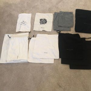 Assorted Designer Shoe Bags